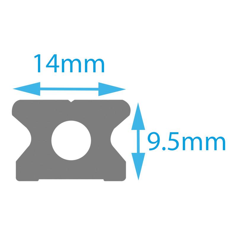 Photo of 14mm Mini Track