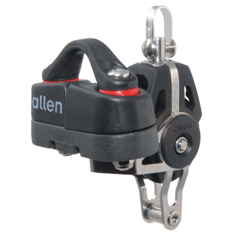 Photo of 40mm Swivel Block with Becket & Cleat 4-10mm