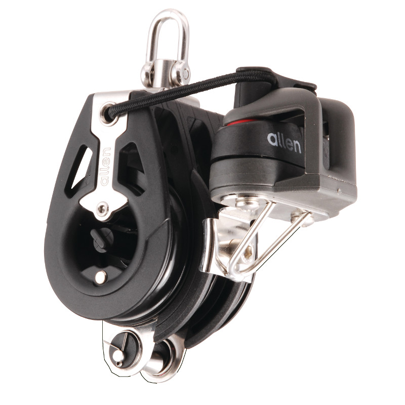 Photo of 50mm Triple Block with Ratchet & Adjustable Cleat