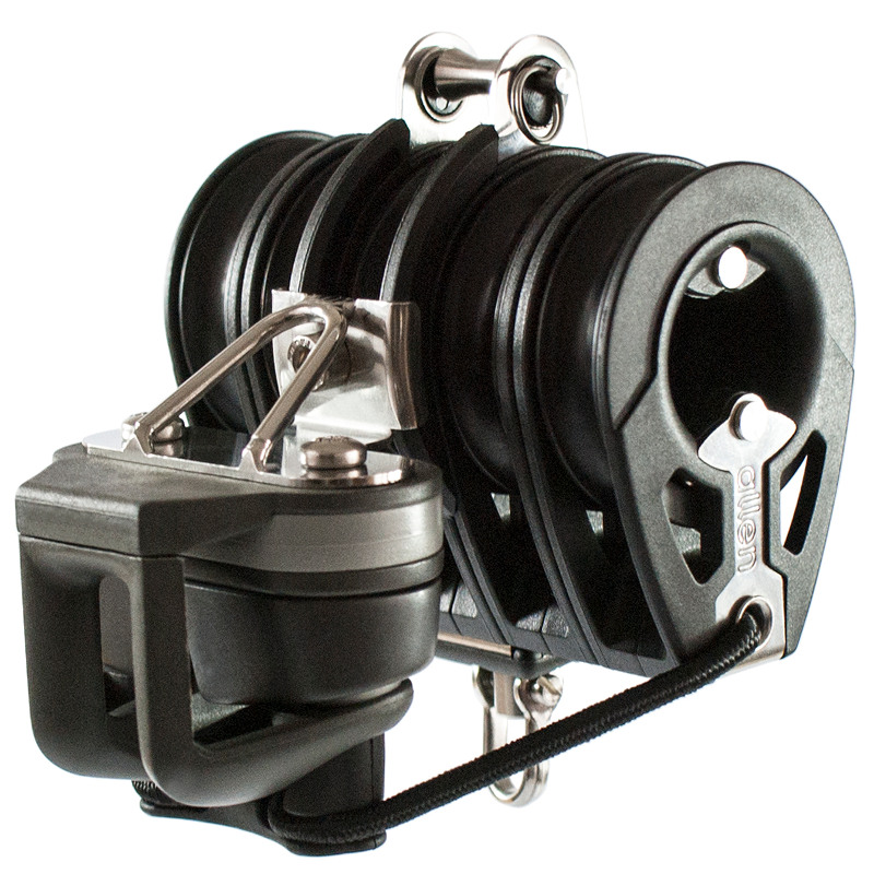 Photo of 50mm Quint Block with Ratchet & Adjustable Cleat