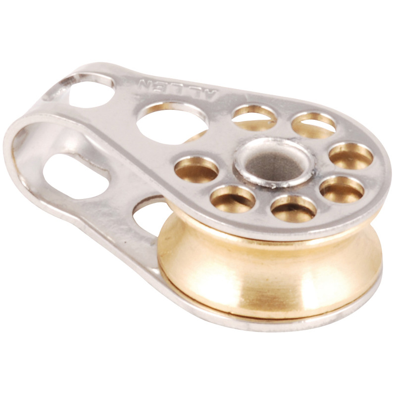 Photo of 16mm Single Lightweight Block with Brass Sheave