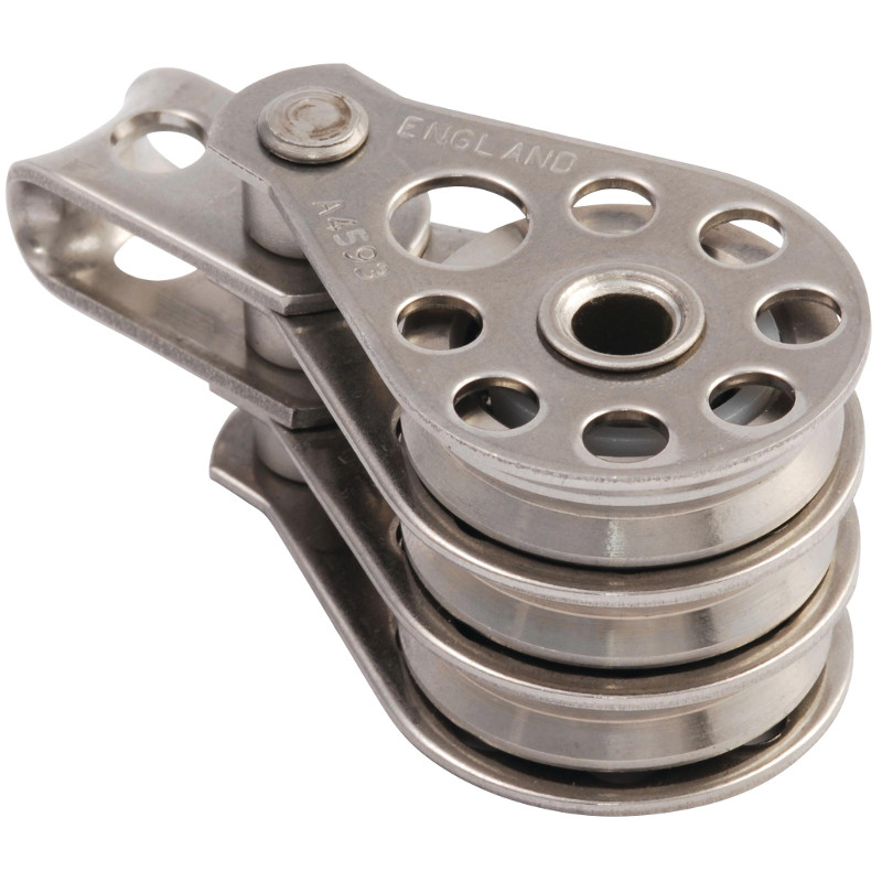 Photo of 25mm Triple Fixed Head High Tension Block