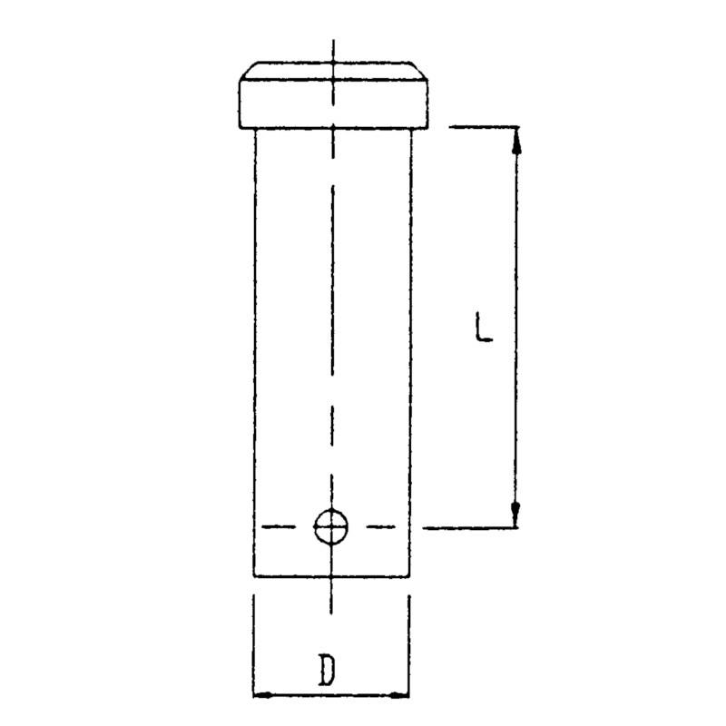 Photo of Stainless Steel Clevis Pin