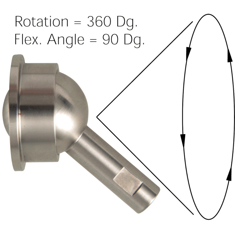 Photo of WDS Flexible Angle Ball