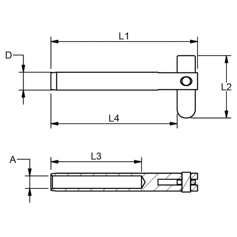 Photo of WDS Drop Nose Pin Terminal