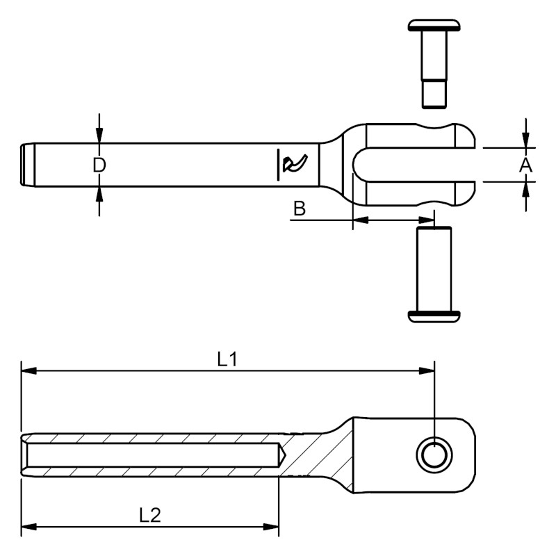 Photo of WDS Tamper Proof Fork Terminal