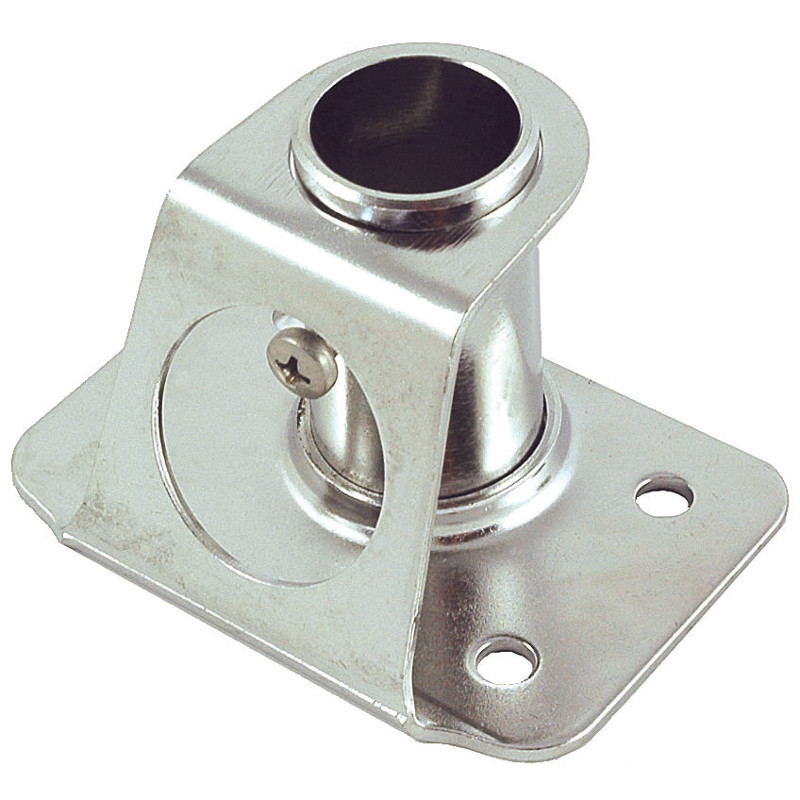 Premium Stainless Steel Stanchion Base Square