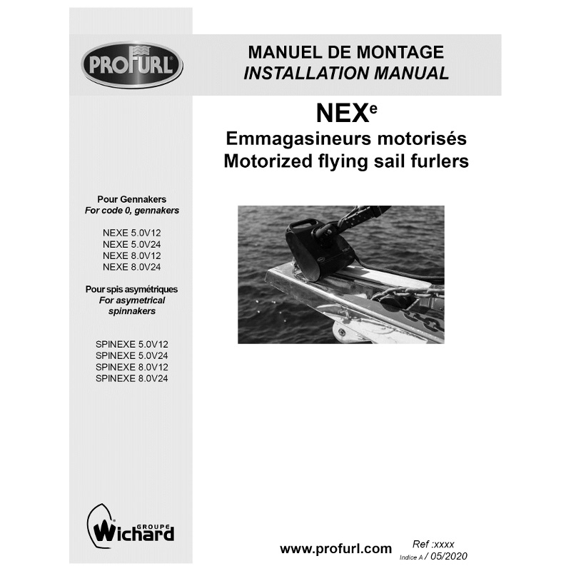 Photo of NEXe Motorised Furler - Installation Guide