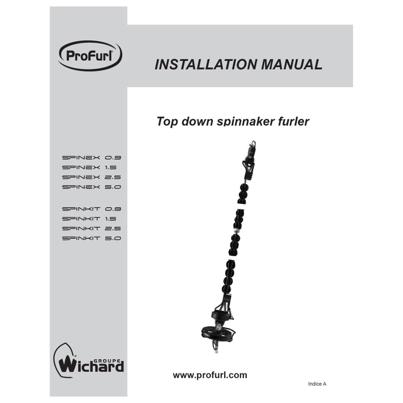 Photo of Spinex Top Down Furler - Installation Guide