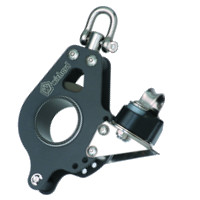 Photo of 50mm Single Block with Swivel Head Becket & Cam