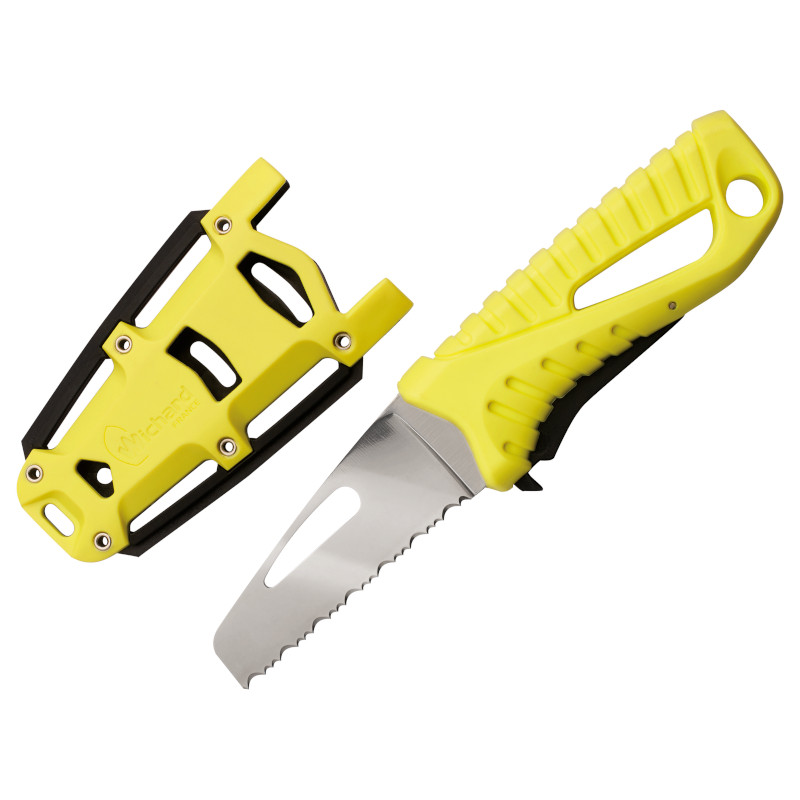 Photo of Rescue Knife with Fixed Serrated Blade & Sheath