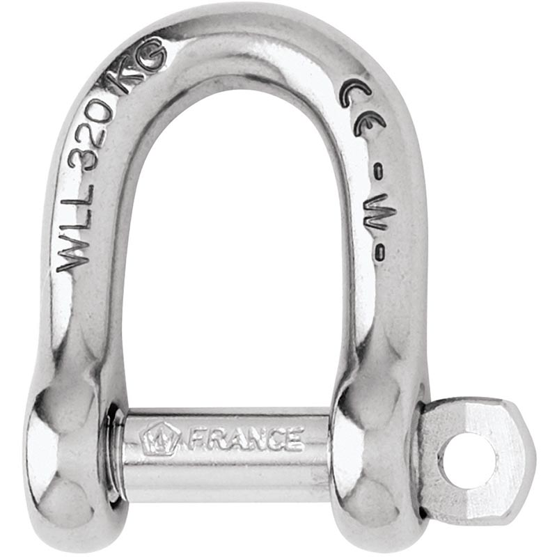 Photo of Forged CE Stainless St Self Locking D Shackles