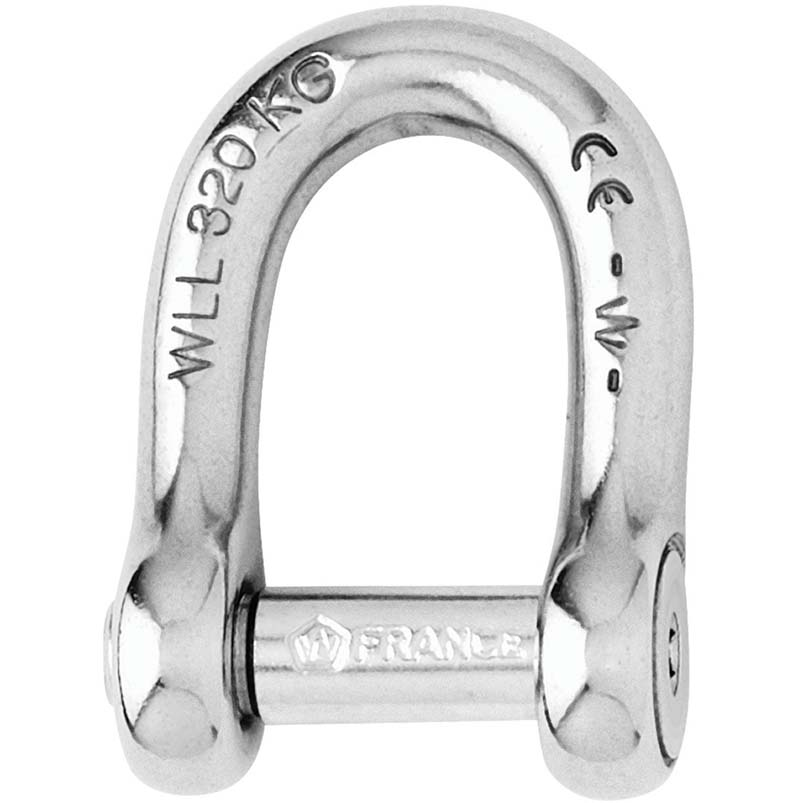 Photo of Forged CE Stainless Steel Allen Pin D Shackles