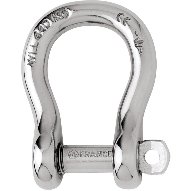 Photo of Forged CE Stainless Steel Captive Pin Bow Shackles