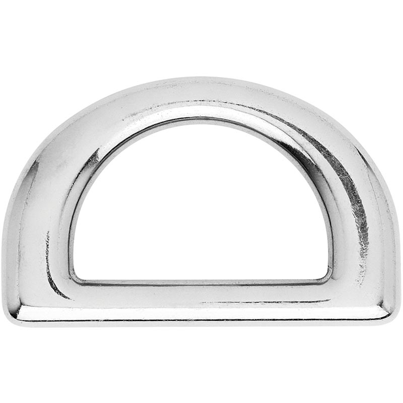 Photo of Forged Stainless Steel Flat D Ring