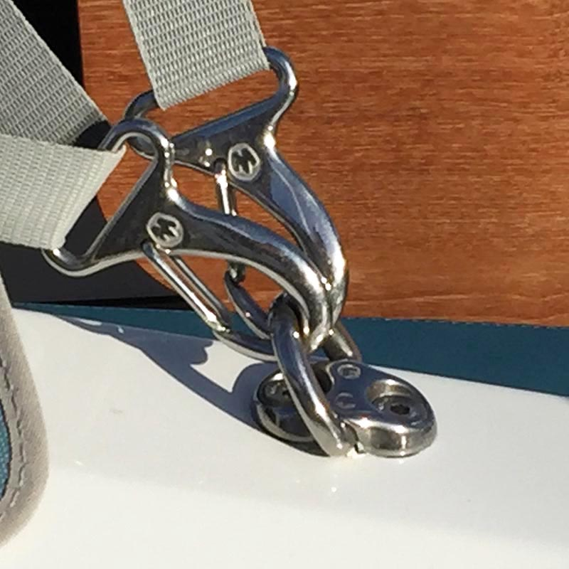 Photo of Forged Stainless Steel Webbing Snap Hooks