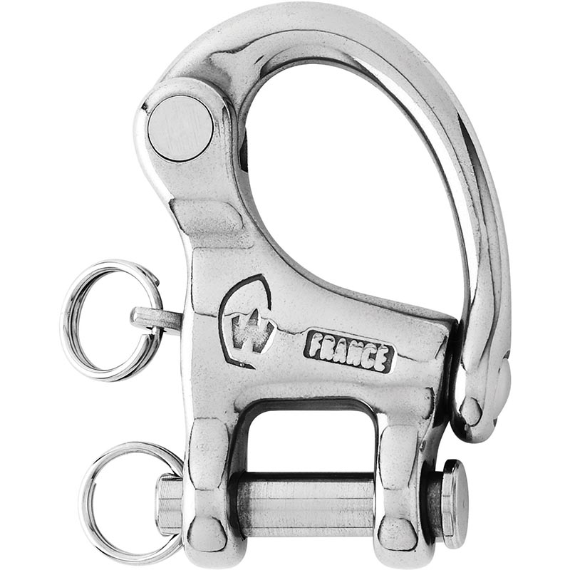 Photo of Forged Stainless Steel Fixed Clevis Snap Shackles