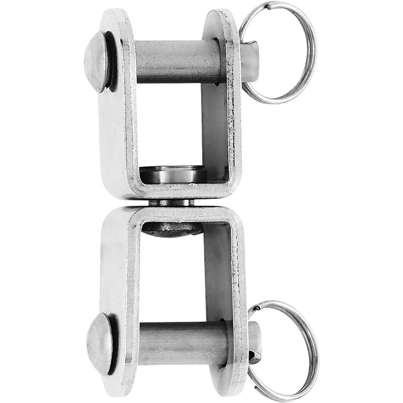 Photo of Stainless Steel Fork-Fork Clevis Swivels