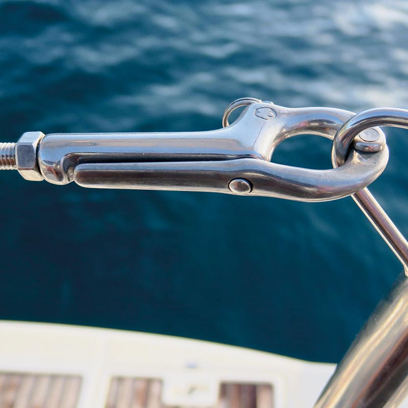 Photo of Forged Stainless Steel Pelican Hooks