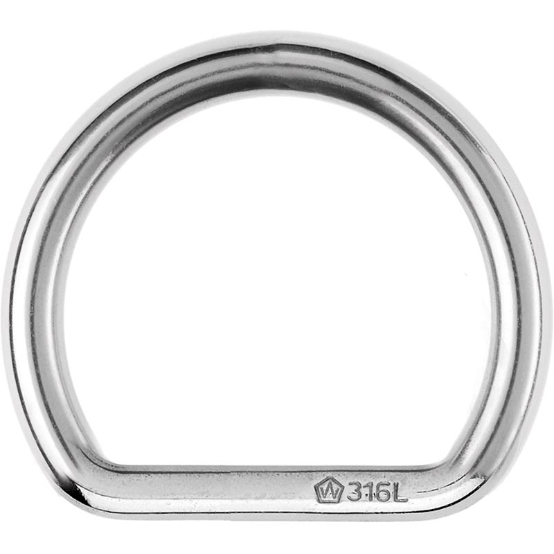 Photo of Forged Stainless Steel Large D Ring