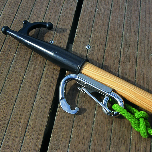 Photo of Grab Mooring Hook with Torsion Spring Gate