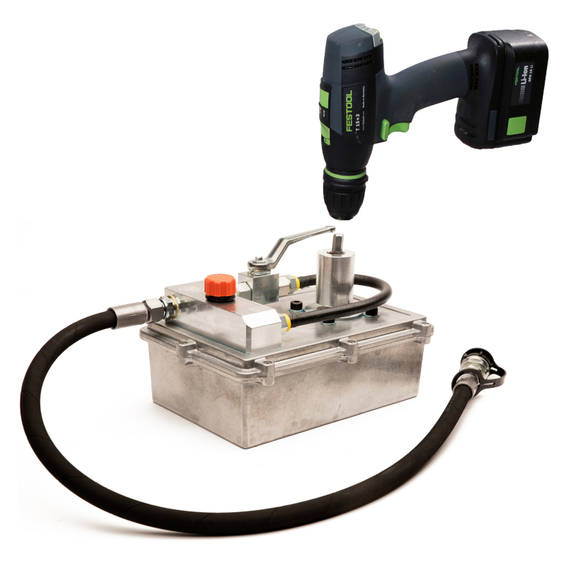 Photo of Hydraulic Cordless Drill Power Unit