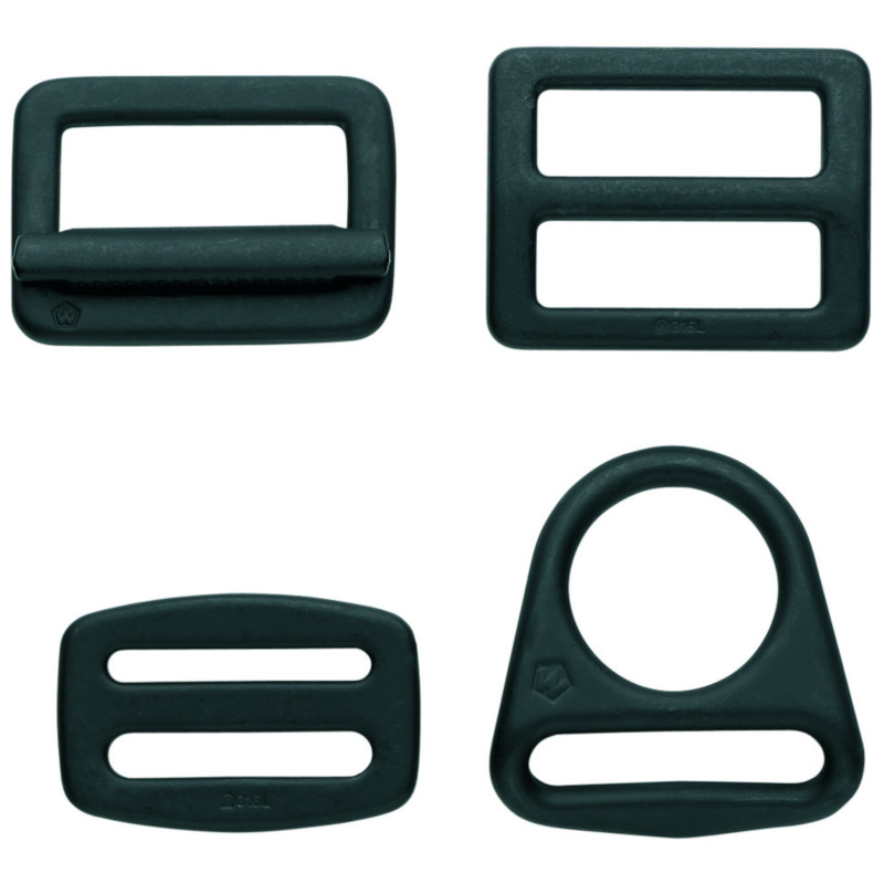 Photo of Black Forged Stainless Steel Buckles
