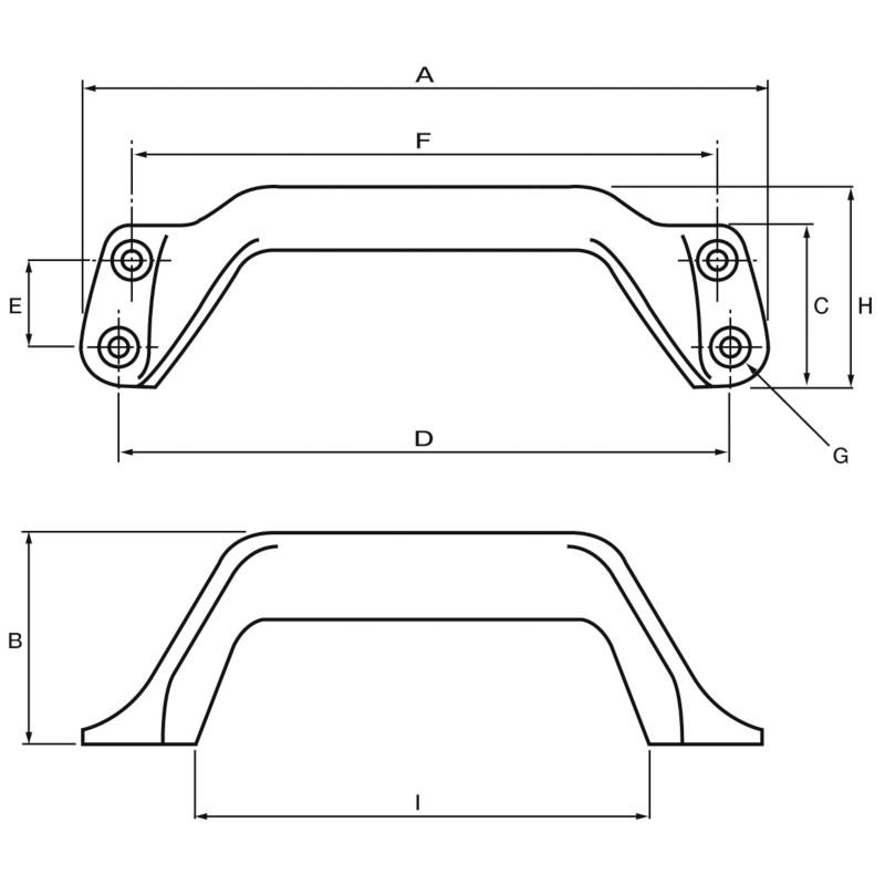 Photo of Aluminium Handle